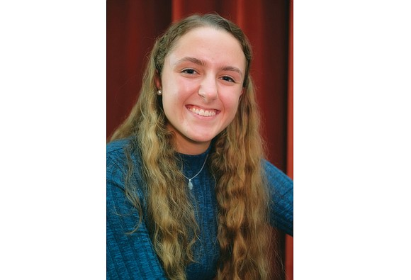 When Samantha Lynn Ayres began her sophomore year at Richmond Community High School, she found out that she was third ...