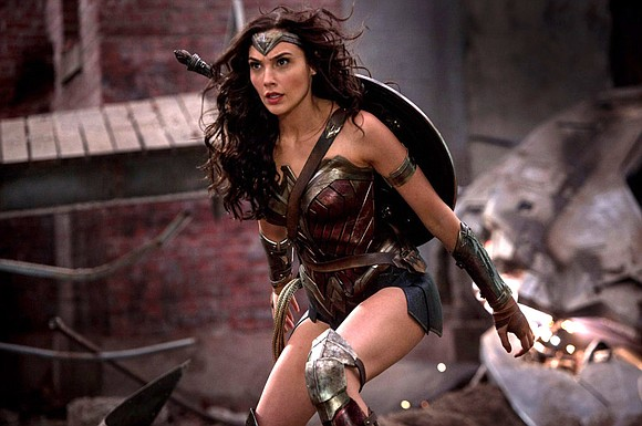 """The Amazonian lives! All hail our female warrior, our super-heroine, """"Wonder Woman."""""""
