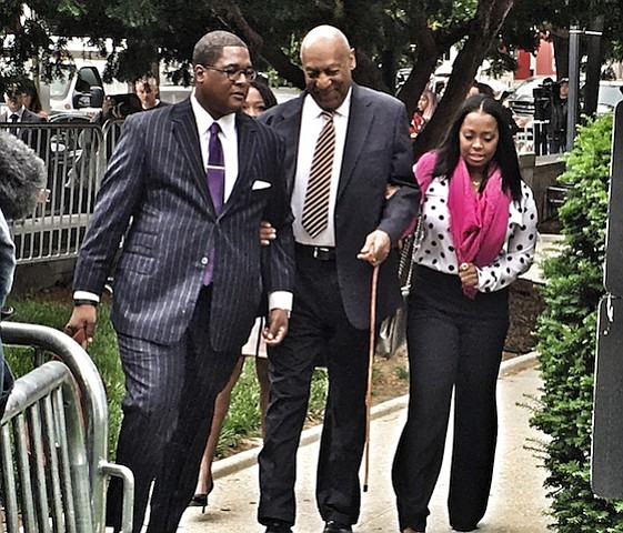 Bill cosby arrives at court to face 2004 indecent assault for Craft shows in montgomery county pa
