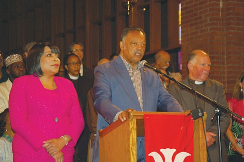 Rev. Jesse Jackson came to Portland on Friday to help the city heal from the May 26 attack on a ...