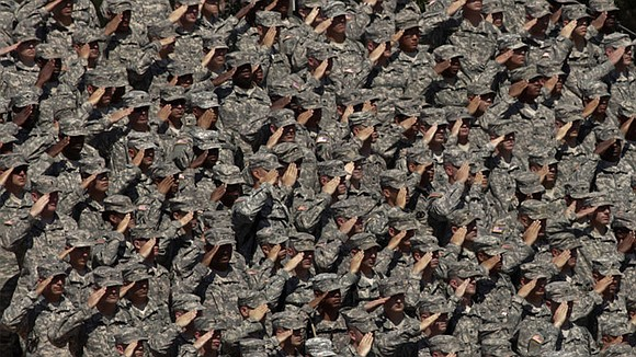 Black service members are up to two times more likely to face court-martial or other forms of military punishment than ...