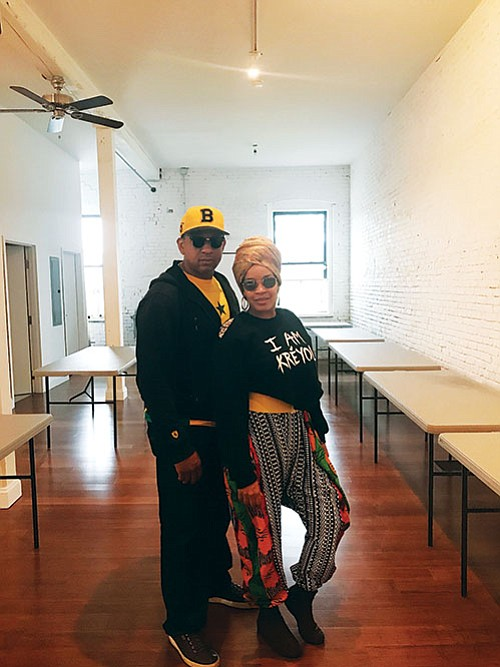 Two longtime Roxbury residents aim to inject economic energy into the community with a new collaborative business and event space ...