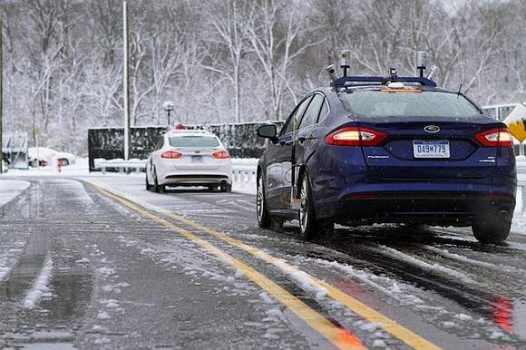 During a test drive near Ford's Michigan headquarters, the team noticed something strange with its self-driving cars.
