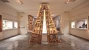 "Mounira Al Solh, ""Sperveri,"" 2017, installation view, Museum of Islamic Art, Benaki Museum, Athens, documenta 14."