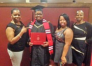 Jasmine Jwanita Alston earned her Associate of Arts Degree in General Studies.