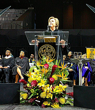 Hillary Clinton at Medgar Evers College