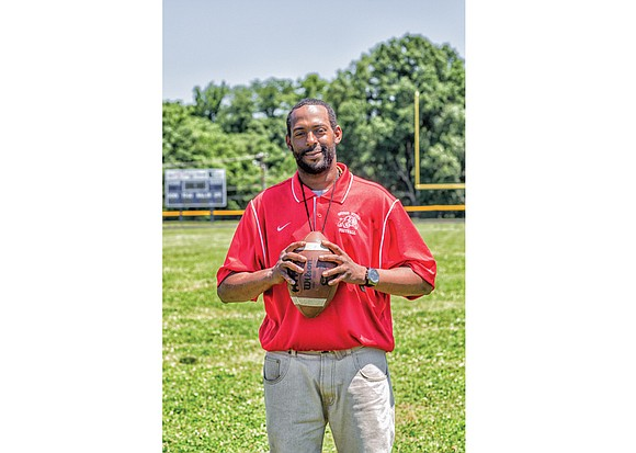 Jerome Jeter played football for George Wythe High School when the Bulldogs were an area powerhouse. He was in the ...