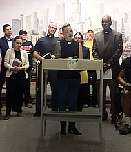 Faith leaders, legal and community advocates for affordable housing recently held a press conference at city hall in Chicago to voice their support for a controversial Northwest Side Housing Development.
