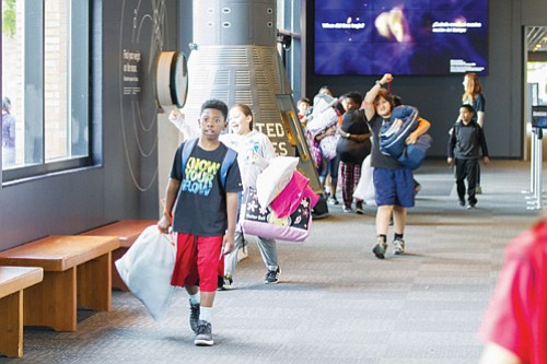 Local students from schools across the region have a chance to visit Oregon Museum of Science and Industry (OMSI) with ...