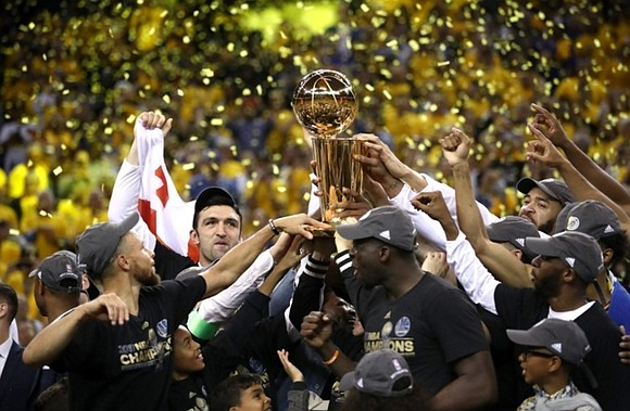 Kevin Durant joined the Golden State Warriors to win his first NBA championship. Mission accomplished.
