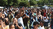 Founded 20 years ago, the Roxbury Homecoming celebration brings Roxbury's daughters and sons from across the country to Franklin Park for barbecues, music and a celebration of friendship.