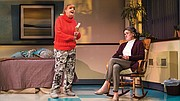 "Annie Golden (left) and Nancy E. Carroll in ""Ripcord."""