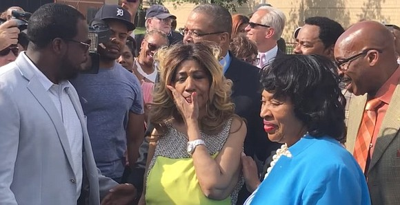 Aretha Franklin, the Queen of Soul, was honored with a street named after her in Detroit this weekAretha Franklin, the ...