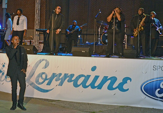 At the second annual Night at the Lorraine, the spotlight was on the motel's relationship and importance to the black music community.
