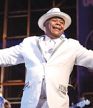 Lead singer Larry Dodson joined The Bar-Kays in March 1970, bringing scope and daring to the group's sound. (Courtesy photo)