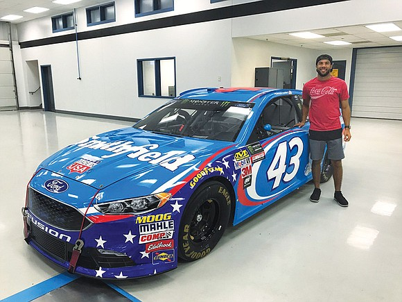 There hasn't been a full-time African-American driver on NASCAR's premier circuit since Virginian Wendell Scott retired in 1973.