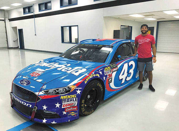 There hasn't been a full-time African American driver on NASCAR's premier circuit since Virginian Wendell Scott retired in 1973