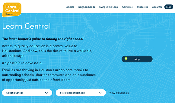 Central Houston announces the launch of Learn Central, an online portal developed to help parents evaluate the K-12 education options ...