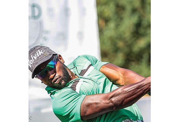 An African-American is among the top golfers in the world. But he's not on the PGA circuit, but rather on ...