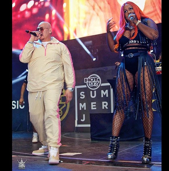 Hot 97 hosted its annual Summer Jam Concert at the MetLife Stadium in Rutherford, N.J., last weekend. It was hot, ...