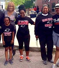 Clark Atlanta University was well represented during festivities that were part of the fifth annual HBCU Reunion Weekend. 