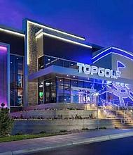 A Topgolf venue in Colorado.