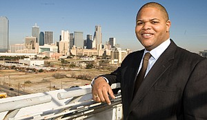 State Rep. Eric Johnson represents District 100, which includes parts of Dallas and Mesquite, in the Texas House of Representatives