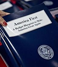 America First 2018 Budget Blueprint