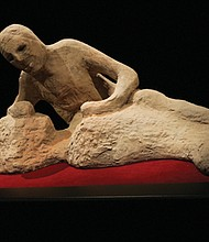 Preserved bodies cast by the eruption of Mt. Vesuvius in Italy were discovered in the ruins of city buried by volcanic debris. Pompeii: The Exhibition opens Saturday, June 24 at the Oregon Museum of Science and Industry.