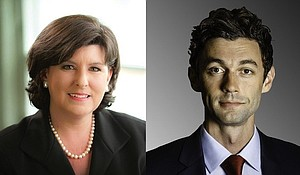 Republican Karen Handel is currently a candidate for Georgia's 6th Congressional District Special Election. Jon Ossoff (right) is currently a candidate for Georgia's 6th Congressional District Special Election.