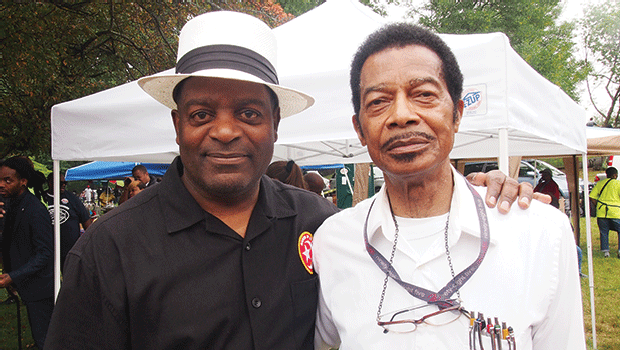 Student Minister Rodney Muhammad and Bro. Joseph 6X.