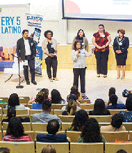 Amplify Latinx Advocacy Session at UMass Boston.