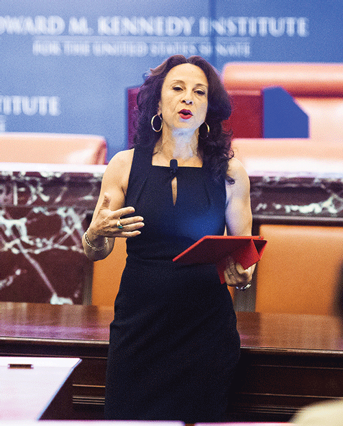 Keynote Speaker Maria Hinojosa, host of NPR's Latino USA.
