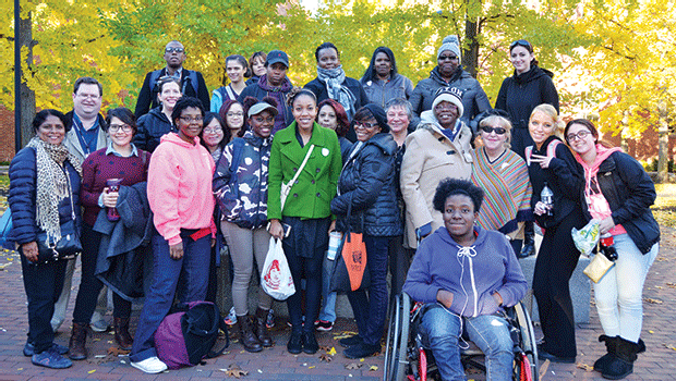 """On Nov. 4, RCC's library hosted a student field trip to Salem to provide additional learning opportunities about """"The Scarlet Letter,"""" the College's One Book, One Campus Selection."""