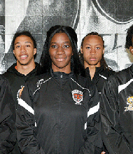 RCC's Track and Field Team with head coach Tommie Campbell, Jr.