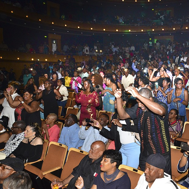 The highlight of the Juneteenth Urban Music Festival's 25th Anniversary Celebration, the concert at the Cannon Center lived up to its billing.