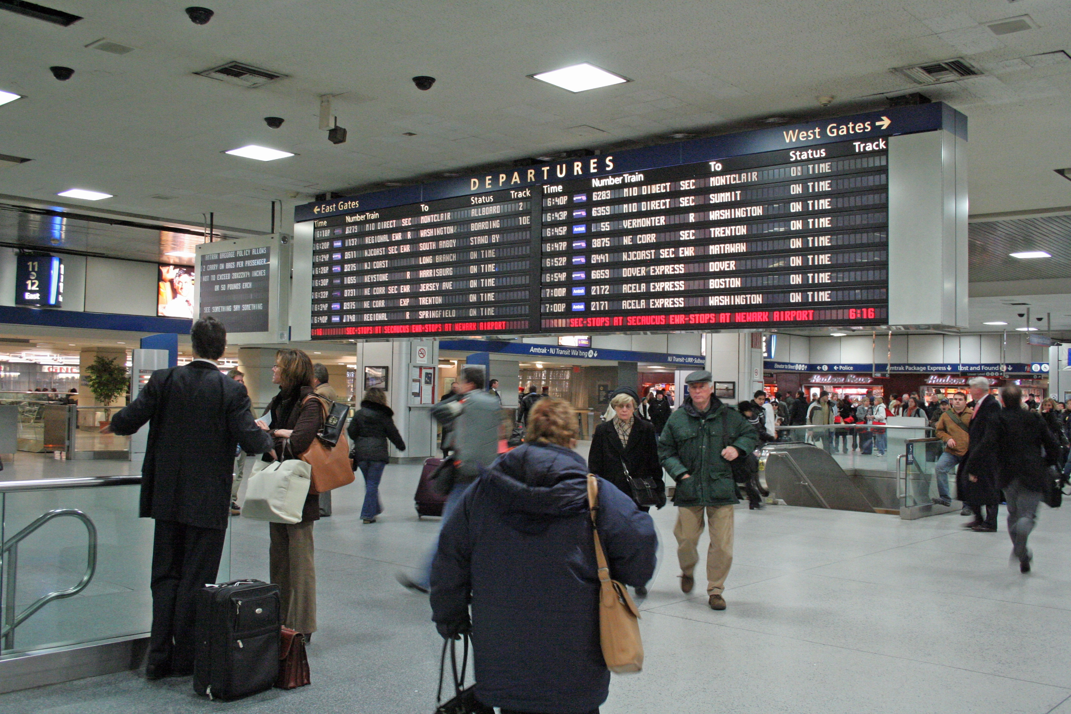 Amtrak phone number penn station - Cuomo Looks To Establish Control Over Penn Station New York Amsterdam News The New Black View