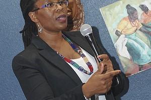 Ntsiki Biyela, South Africa's first black female wine creator,