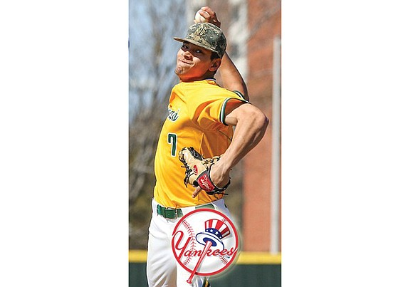Former Norfolk State University and Manchester High School baseball standout Alex Mauricio is now an employee of the New York ...