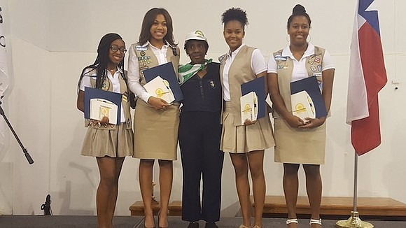 Four young ladies' acts of community service were so grand that they were deemed golden. Jade Bryant, Codi Fillmore, Milan ...