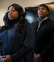 Valerie Castile, mother of Philando Castile, speaks during a press conference Nov. 16, 2016, in Minneapolis. (Stephen Maturen/Getty Images)