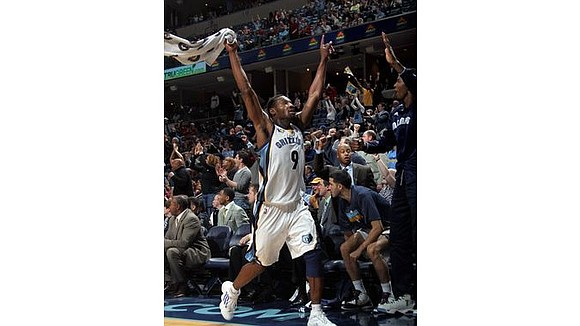 Grizzlies swingman Tony Allen was named to the NBA's All-Defensive second team, the NBA announced Monday afternoon.