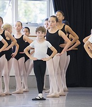 Registration for free pre-ballet classes for kids ages 6-9 are now being taken by the Portland Ballet, which happens only a few times a year.