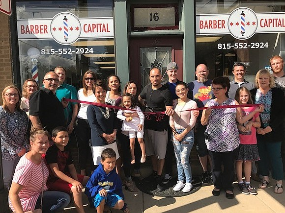 Lockport's newest business, Barber Capital, is a full-service barber shop.