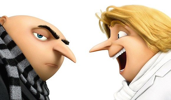 "Gru's family keeps growing while the franchise's charms keep shrinking in ""Despicable Me 3,"" a fairly laborious and chaotic addition ..."