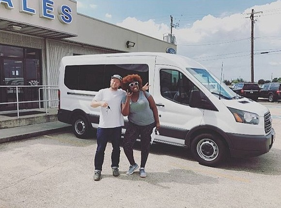 Houston band The Suffers had its tour van stolen recently, according to an Instagram post from the group.