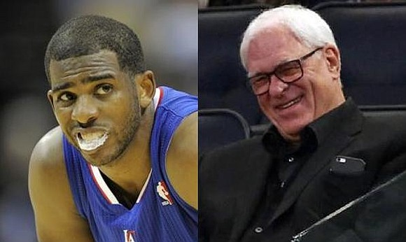 It's OVER! We're talking about the Chris Paul era in Los Angeles and Phil Jackson's in New York.