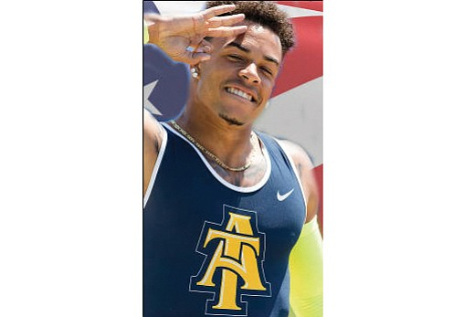Chris Belcher won NCAA Division I All-American recognition with A&T scripted across his chest. That's short for North Carolina A&T ...