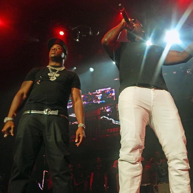 Yo Gotti and hip-hop recording artist Young Jeezy. (Photo: Dalisia Brye)