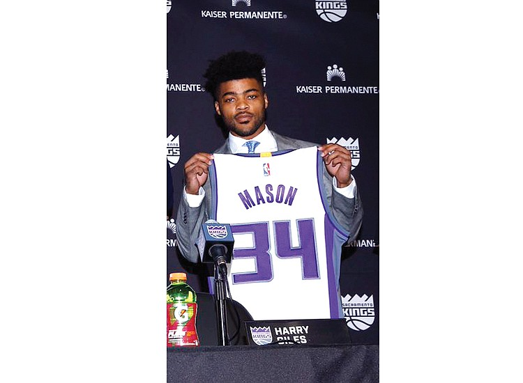 d24eae9c9fc9 Frank Mason III drafted in second round by Sacramento Kings ...